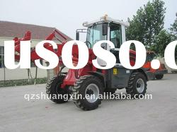 new model 4wd ZL15F hydraulic front loader articulated mini front end loader with ce and euro III