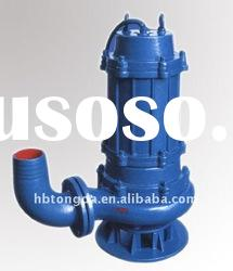 non-clogging submersible discharge sewage pumps