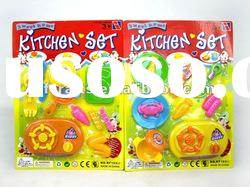 plastic kitchen play set toy