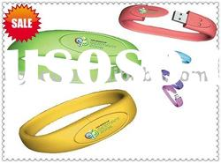 pvc usb disk,bracelet usb flash drive,pvc usb flash memory