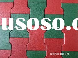 rubber brick paver rubber tile