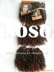 synthetic hair weaving Afro style (3pcs)
