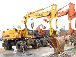 used Hyundai excavator Hyundai 150W -7 With high quality and in BEST price