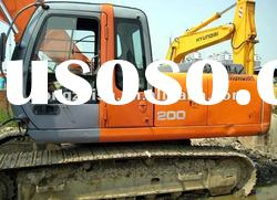 used excavator Hitachi ZX200 With high quality and in BEST price