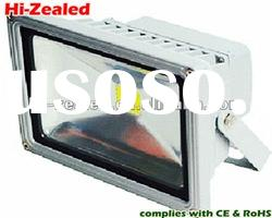 waterproof outdoor led flood light 100w,120 degree & 20m view area