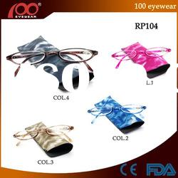 100 Lovely Slim Plastic Half Frame Reading Glasses