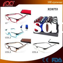 100 New Design Acetate Reading Glasses With Case