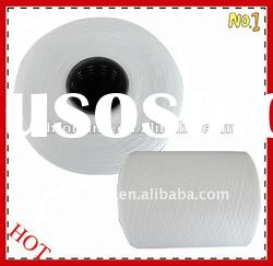 100% polyester ring single spun yarn for knitting 30/1