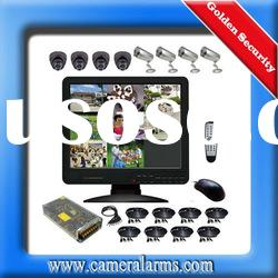 16 Channel CCTV Security Surveillance IR Night Vision Camera DVR System Kit