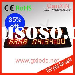 1.8inch red high brightness promotional fancy digital led light alarm clock