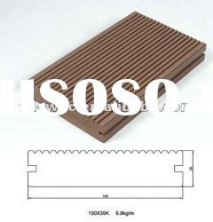 201204New Outdoor Wood Plastic Composite Decking