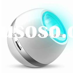 2012 New Arrival Rechargeable LED Mood Light Speaker with FM Radio and Aux in LED Table Lamp