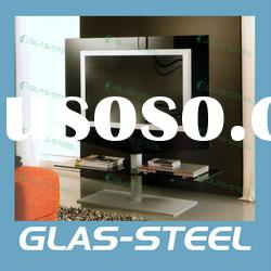 2012 New Arrive Home Furniture - Glass Living Room Plasma LCD TV Stand