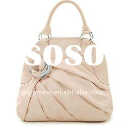 2012 Newest Fashion Designer handbag PU ladies white handbags