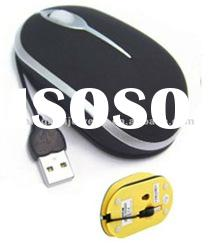2012 new design computer accessories wired usb optical mouse