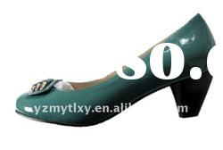 2012 new design lady spring Patent leather shoes