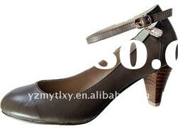 2012 new design spring lady genuine leather shoes