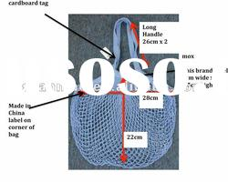 2012 new style fashion cotton mesh Shopping Bag for vegetable
