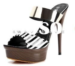 2012 whole sale high heel lady shoes