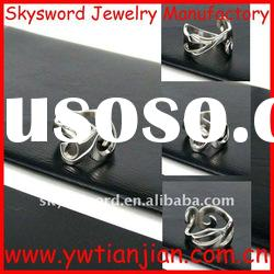 2012new arrival high quality unique stainless steel ring(SSR-026)