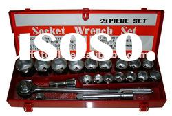 21pc socket wrench set,,3/4''Drive socket wrench set