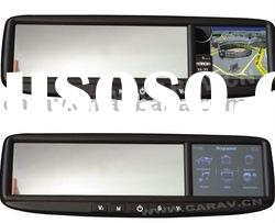 "3.5"" Rear view Mirror Monitor with GPS/FM/3 AV-IN /Bluetooth"