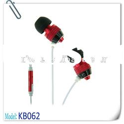 3.5mm Stereo metal earphone with Microphone