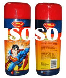 400ml 2 in 1 cleans and conditions shampoo/hair shampoo and conditioner/children hair shampoo