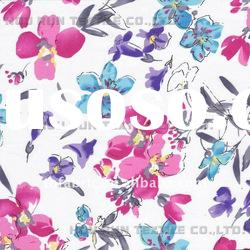 40s*60s 56 in 180*100 100% Cotton Satin Printed Fabric