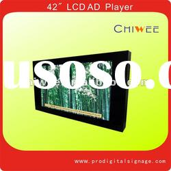 "42"" Wall mount LCD advertising player"