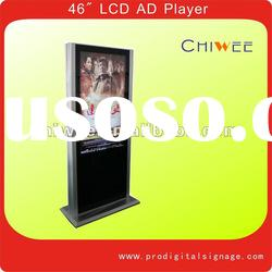 "46"" Standing LCD advertising player, LCD ad player, LCD digital signage player"