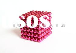 4.8 MM Rose Color Neocube Toy-216 PCS Magnetic balls in opp bag