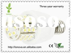 5050 smd led bulb e27 warm white
