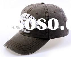 6 panels Baseball Cap with 3D Embr.