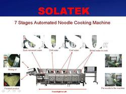 7-stages automatic noodle making machine