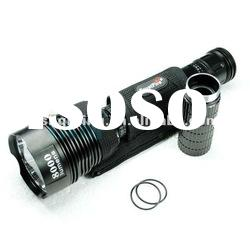 8000LM LED Flashlight XML T6 Trustfire 8000LM 5 Mode Torch 18650/26650 Battery rechargeable
