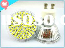 80SMD GU10 4W dimmable led spot lights