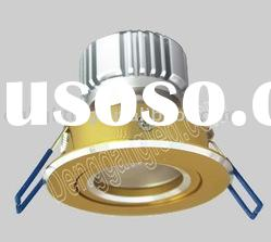 80mA High Power LED 5W LED Recessed Down Light