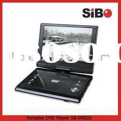 "9""Portable DVD Player with TV Tuner and Game Function"