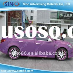 Air free Matt purple color changing sticker pvc vinyl film for car wrap