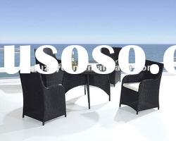 Aluminum Outdoor Rattan Dining Table (PZY-A206)
