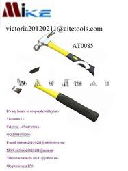American Type Claw Hammer with Color Plastic Coating Handle
