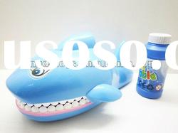 BATTERY OPERATED SHARK BUBBLES WITH SOUND AND FLASHING