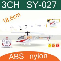 Best gift for child,3CH mini infrared rc helicopter SY-027 radio control toy