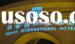 Best selling outdoor advertising acrylic frontlit LED light letter