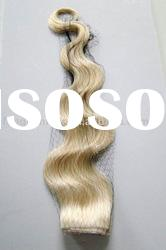 Body wave human hair extension/weft