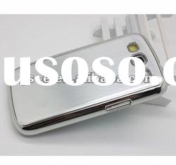 Brushed metal + Hard Plastic case for Samsung galaxy S3