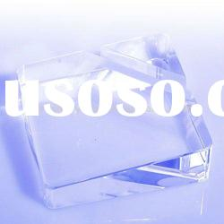 Clear Crystal Name Card Holder Office Table Gift Sets