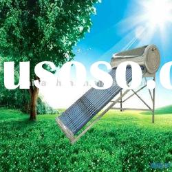 Compacted unpressurized vacuum tube solar energy water heater
