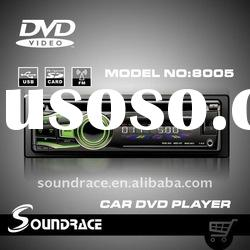 Competitive price one din car dvd player with usb/sd slot S 8005